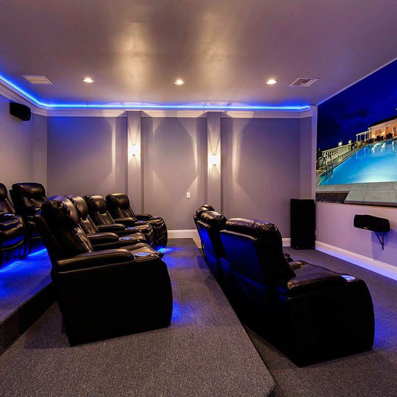 Theater Room Villa