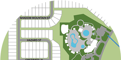 Solterra Resort Map