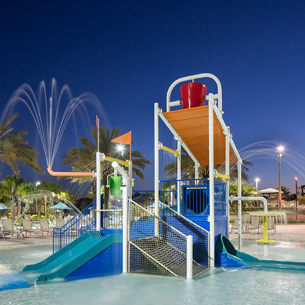 The Retreat at Champions Gate splash zone